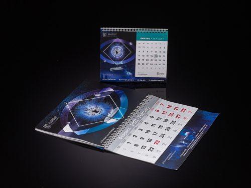 настольный календарь типография владивосток